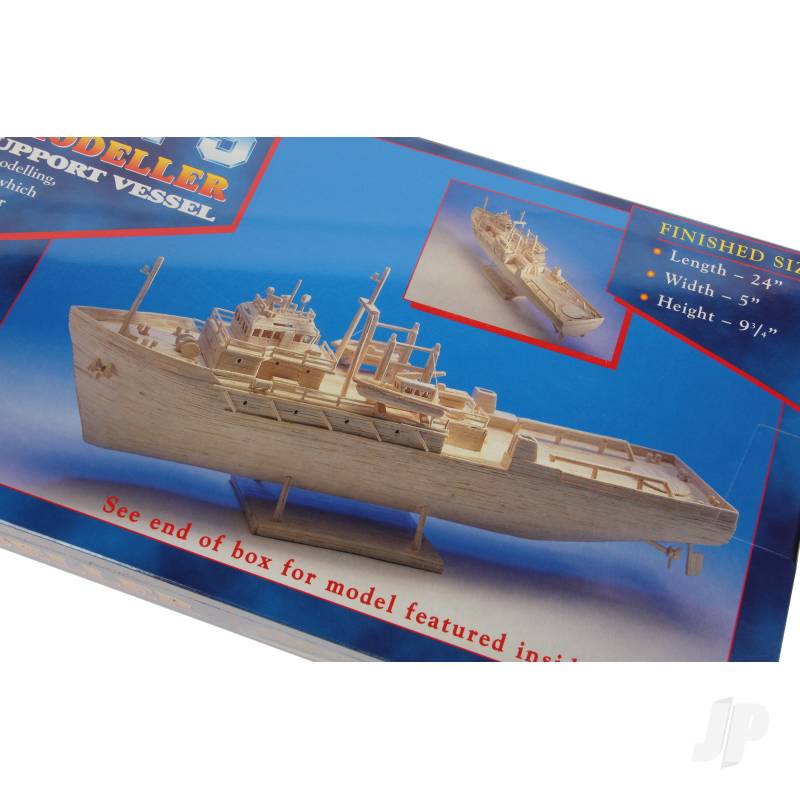 Matchbuilder Oil Rig Support Vessel Kit
