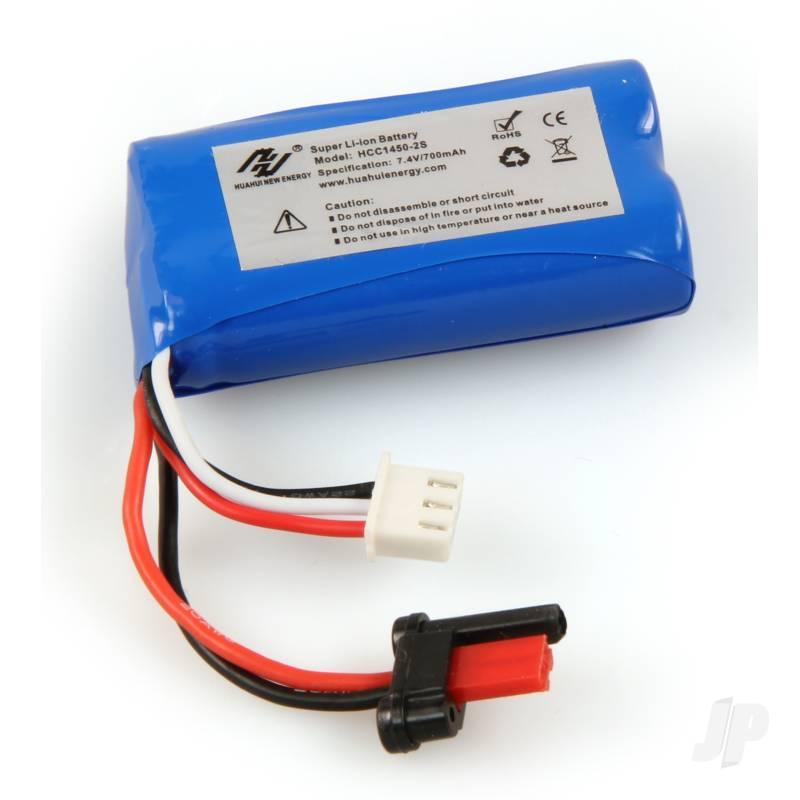 400S Li-Ion Battery 7.4V 700mAh