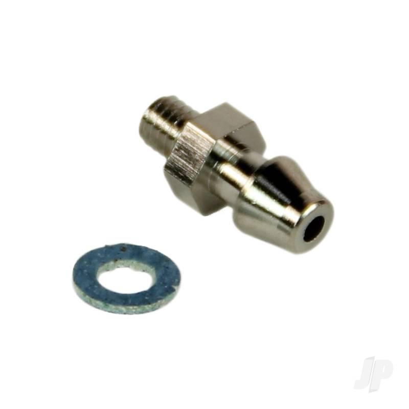 12819 SC Carburetor/Silencer Nipple with Gasket
