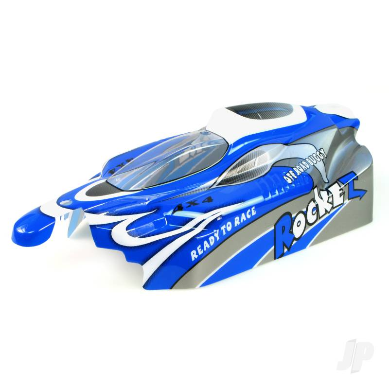 B002 Off Road Buggy Body (Rocket) (Blue)