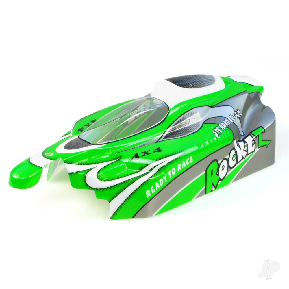 B003 Off Road Buggy Body (Rocket) (Green)