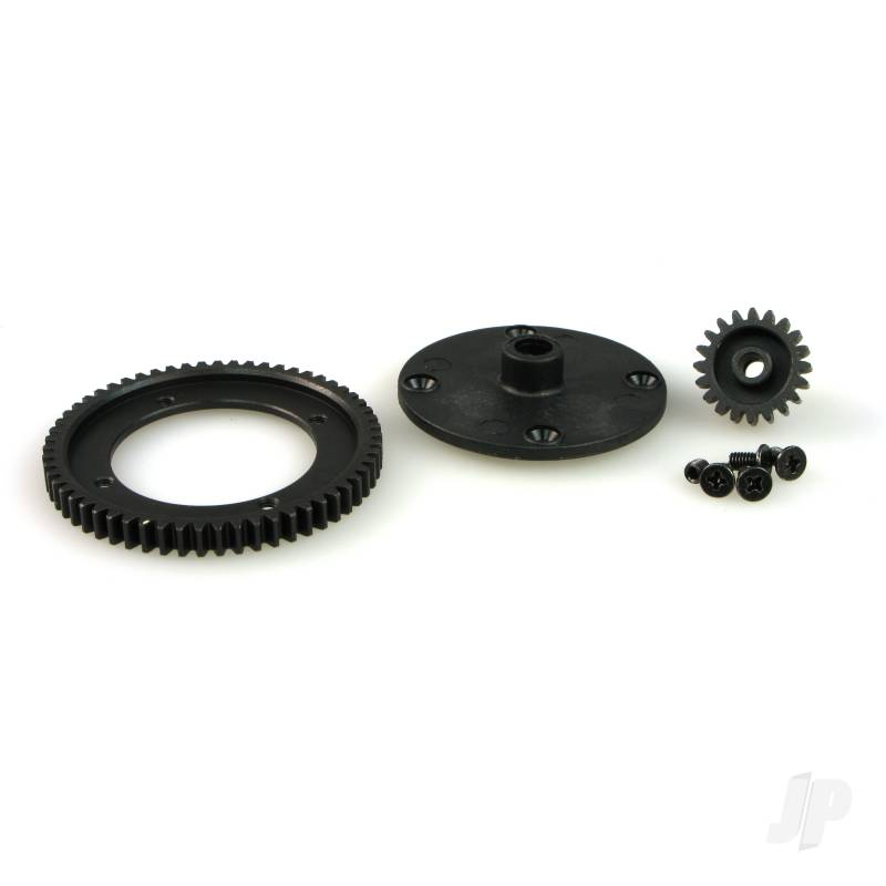 6558-T002 Spur and Pinion Gear Set (Steel)