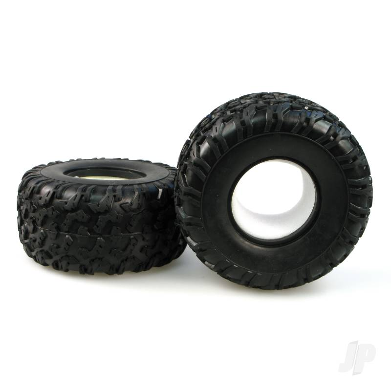 6598-P005 Off Road Truck Tyre + Sponge (Pair)
