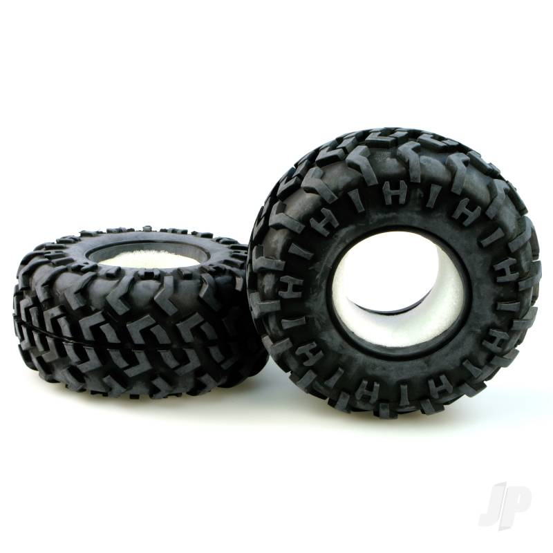 R/Ct-P010 Tyres with Sponge insert (Pair)