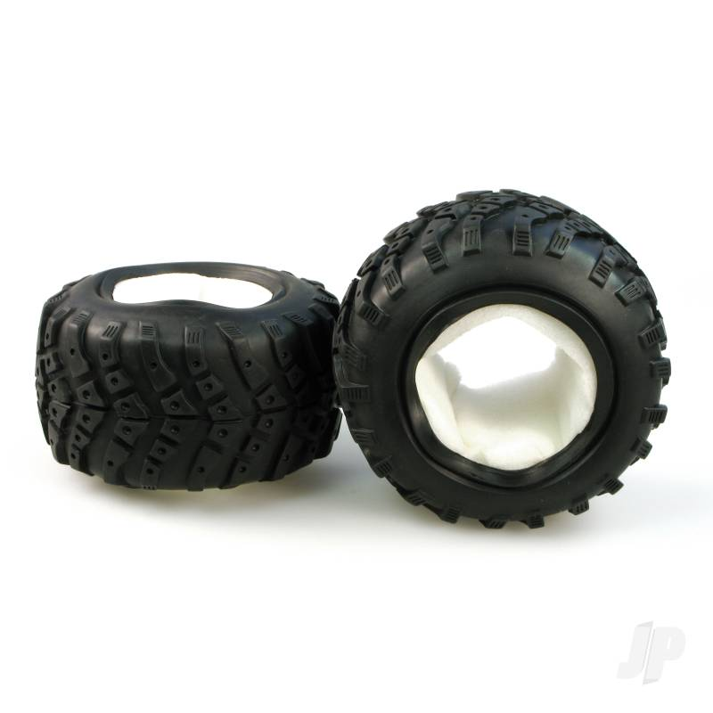 3338-P020 Off Road Tyre + Sponge (Pair)