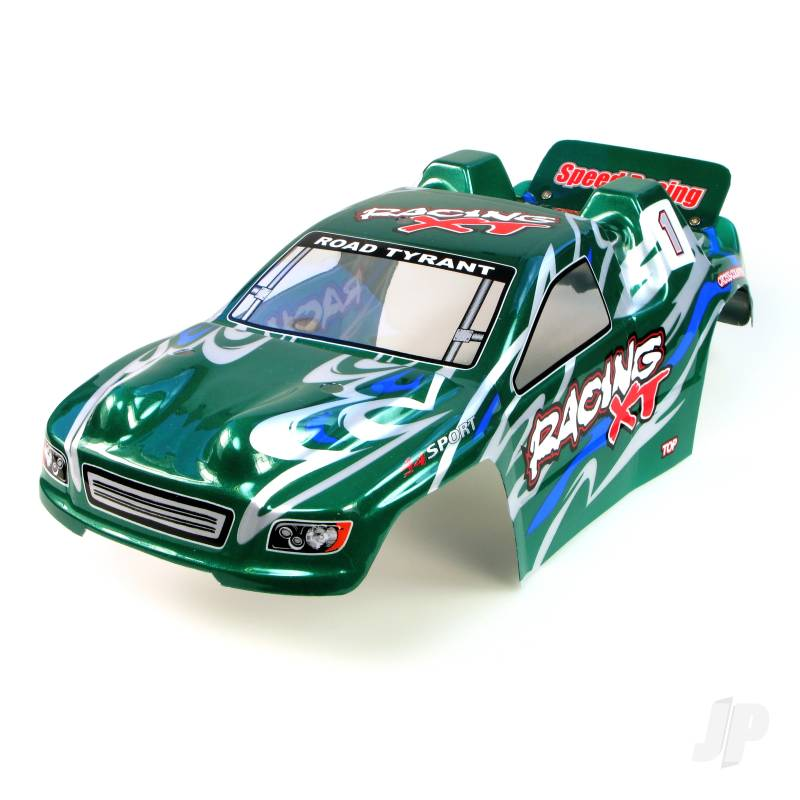 6538-B003 Truggy Body (Surge I) (Green)