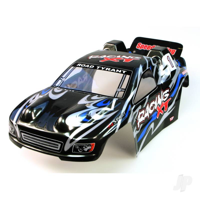 6538-B004 Truggy Body (Surge I) (Black)