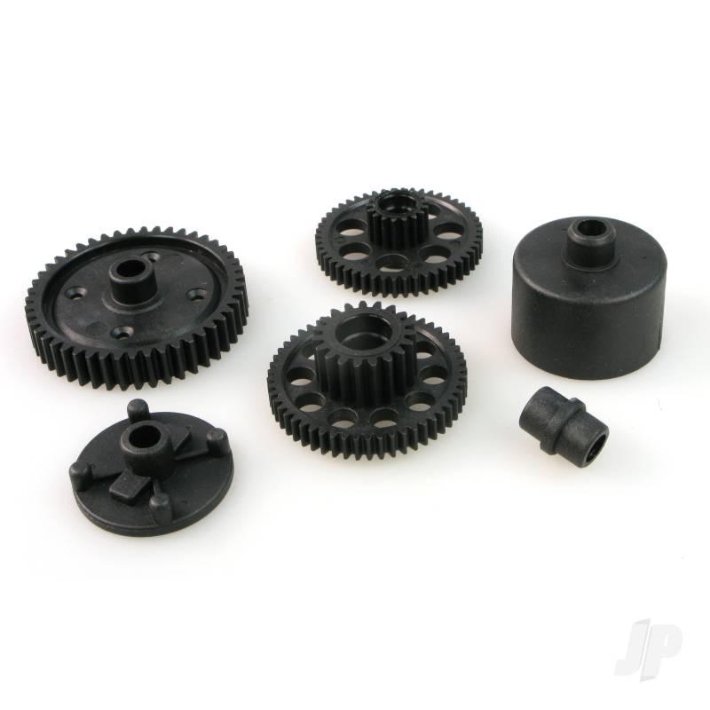 RCT-P005 Spur Gear (47T) + Gears + Case Set