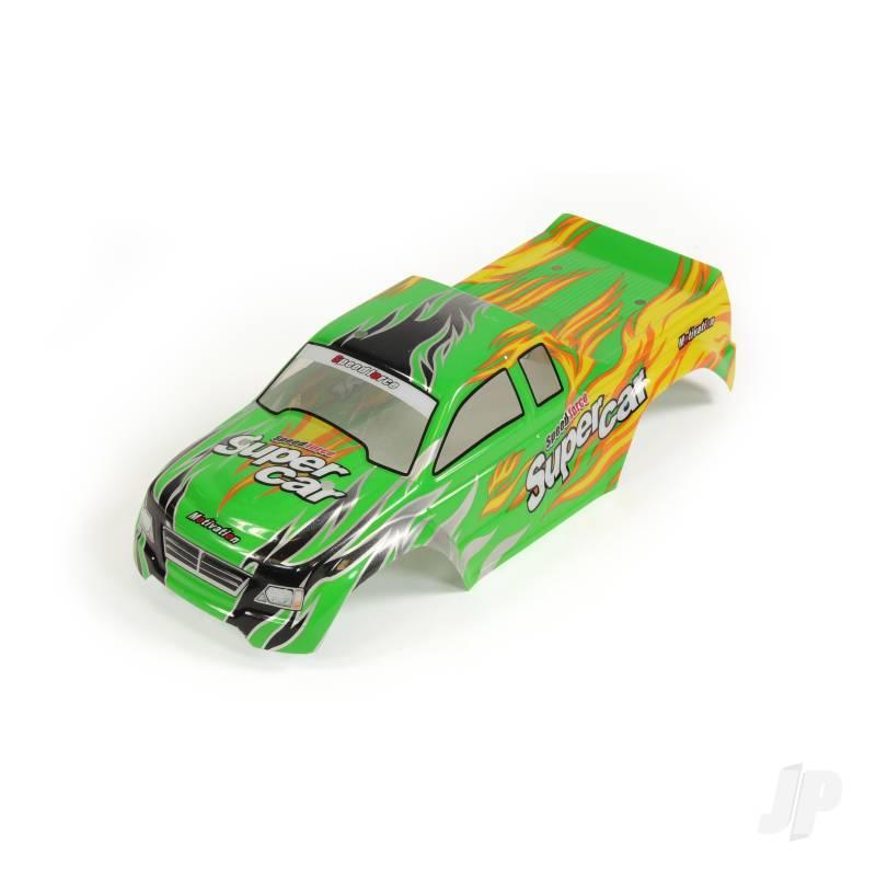 3318A-B001 Body (Tiger Shark) (Green)