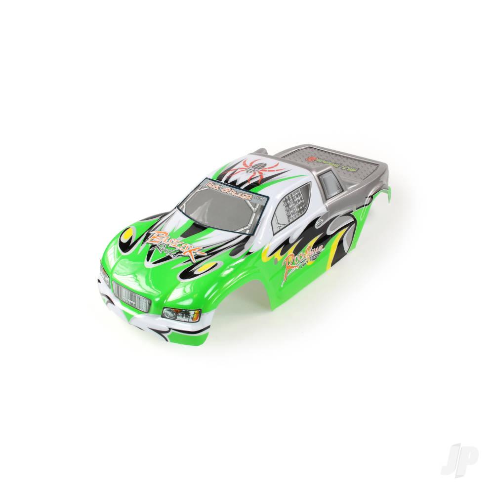 RCL-B001 Body (Basilisk) (Green/Silver)