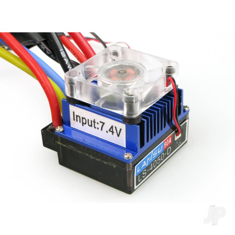 E014D 60A Brushless ESC with Fan (Car/Truck)