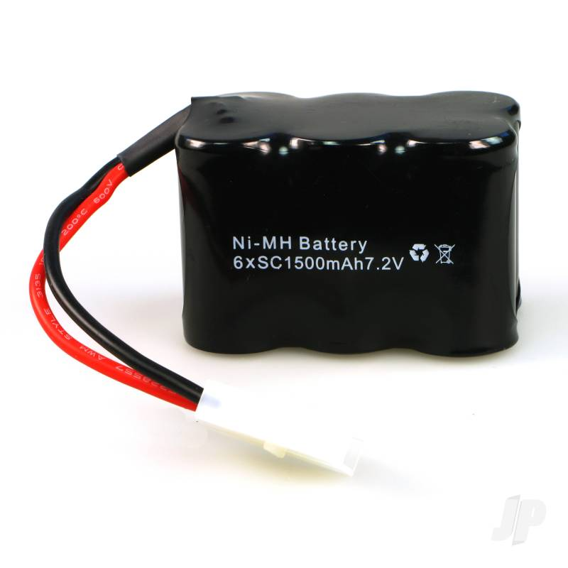 E040 Battery Pack 7.2V 1500mAh NiMH