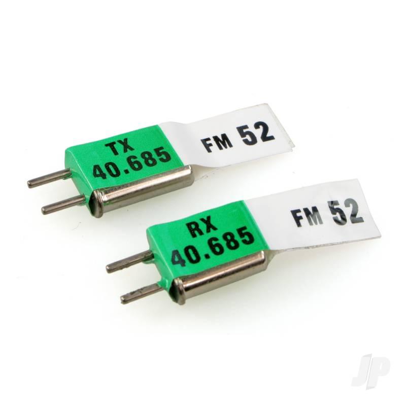 E120 40MHz Fm Crystals (Tx/Receiver)