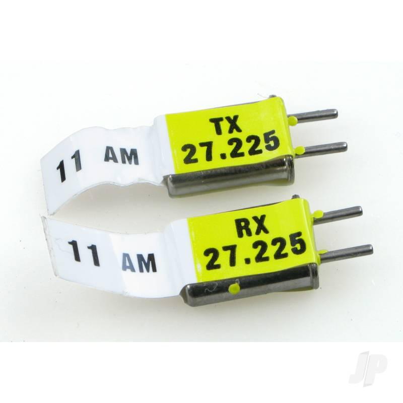 E122 Crystal - Am 27MHz (1 Pr Tx & Rx )
