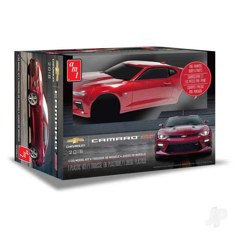 1:25 2016 Chevy Camaro SS (Pre-painted)