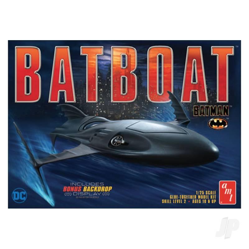 1:25 Batman Batboat