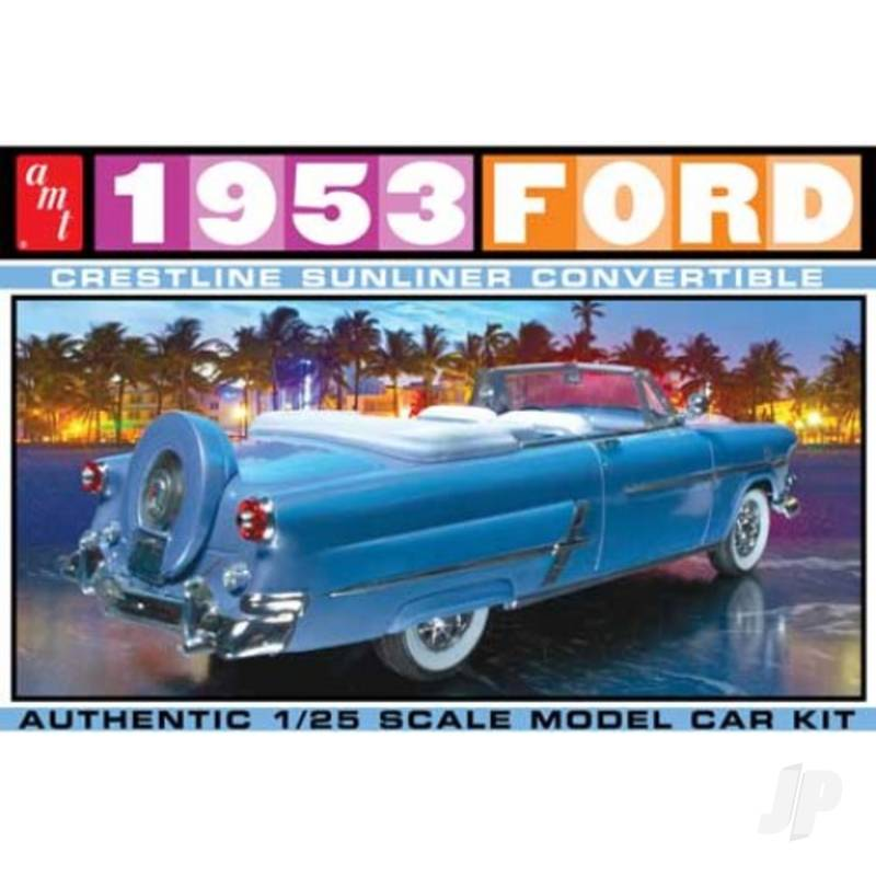 1:25 1953 Ford Convertible