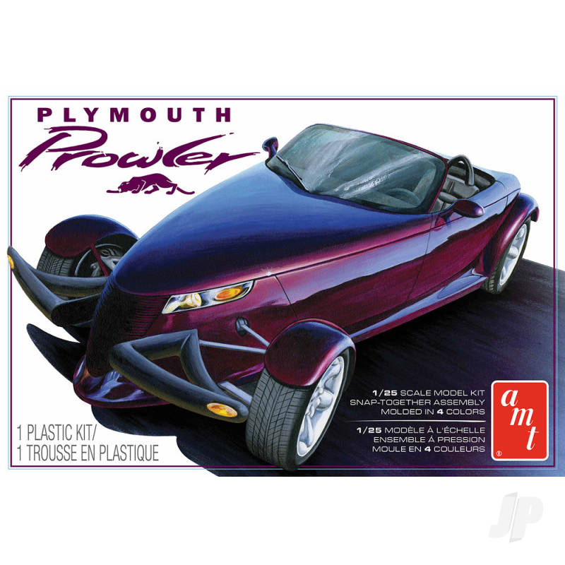 1997 Plymouth Prowler with Trailer