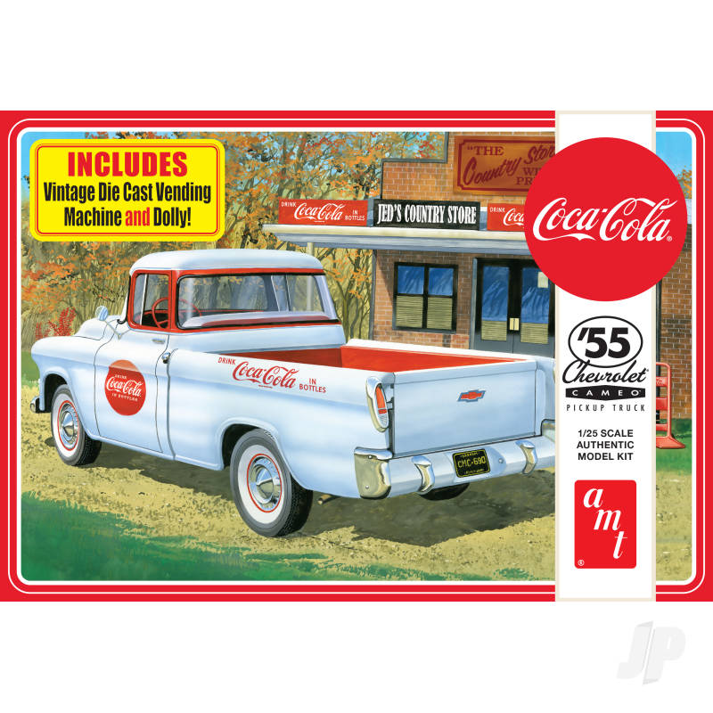 1955 Chevy Cameo Pickup (Coca-Cola)