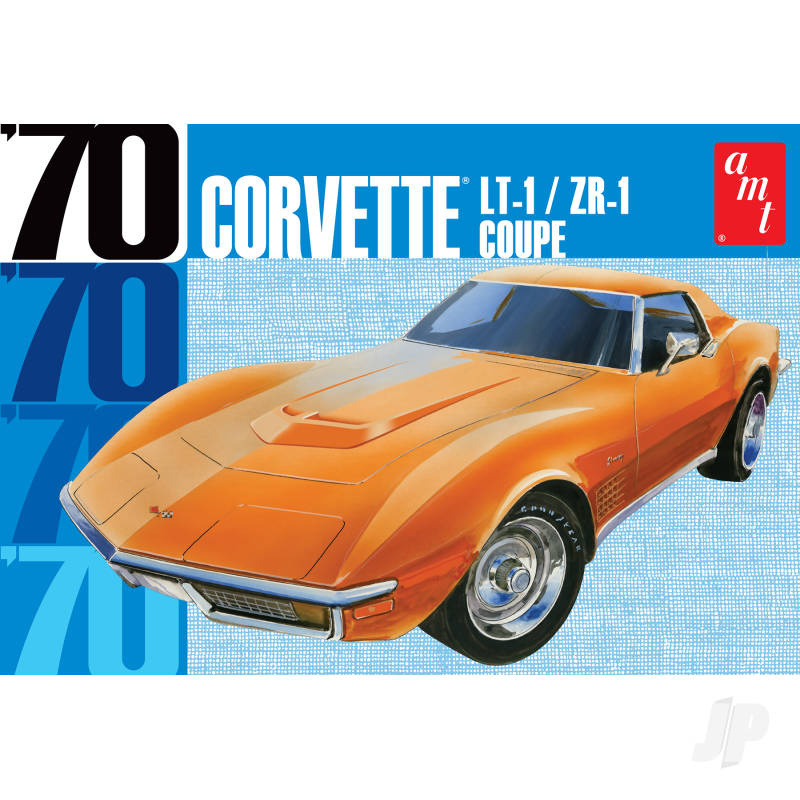 1.25 1970 Chevy Courvette Coupe