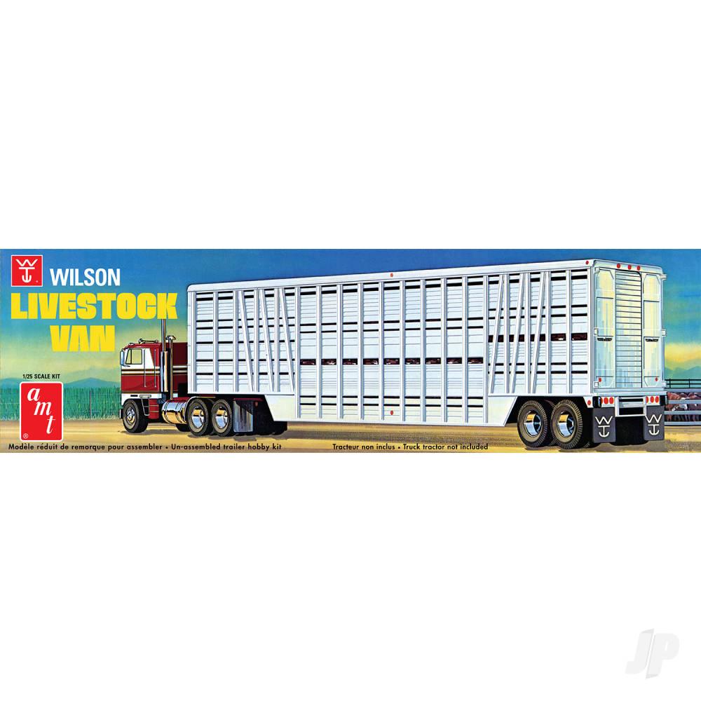 Wilson Livestock Van Trailer