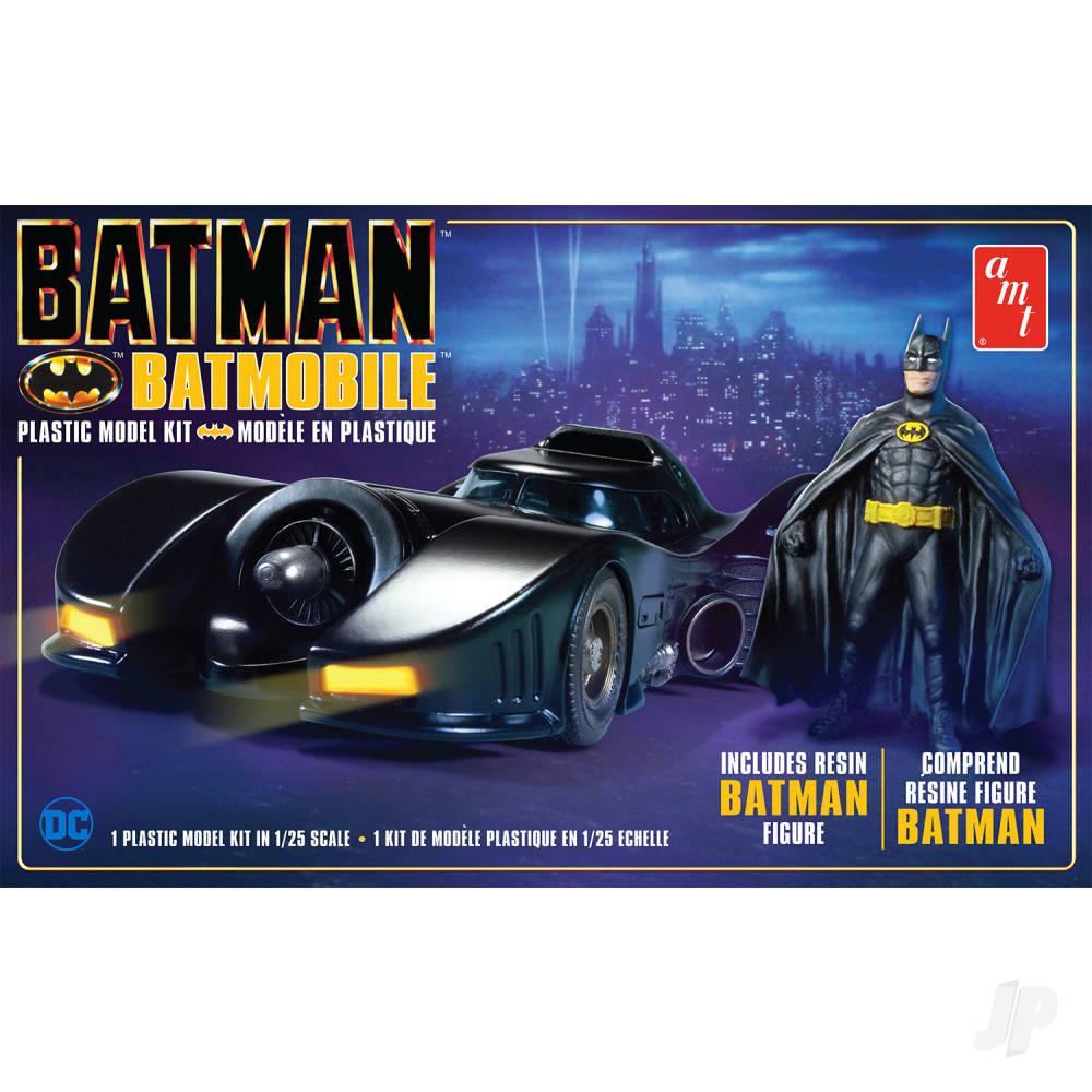 Batman 1989 Batmobile with Resin Batman Figure
