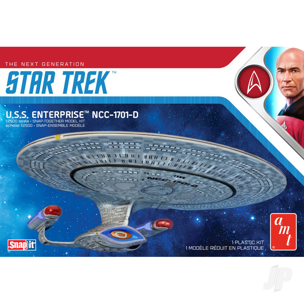 Star Trek U.S.S. Enterprise-D (Snap) 2T