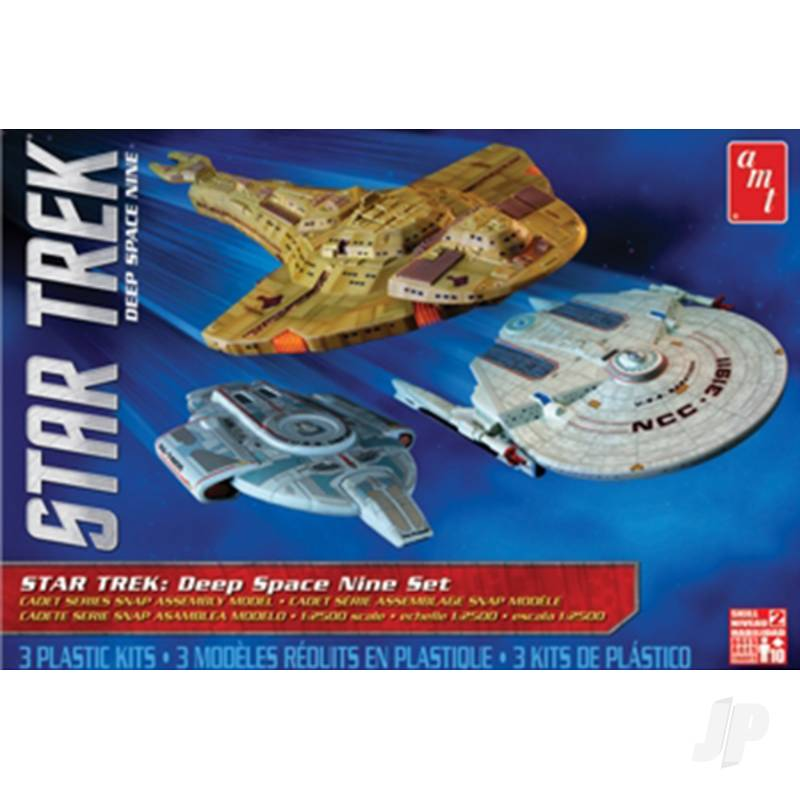 1:2500 Star Trek Cadet Series Deep Space 9 - 3 shipset SNAP