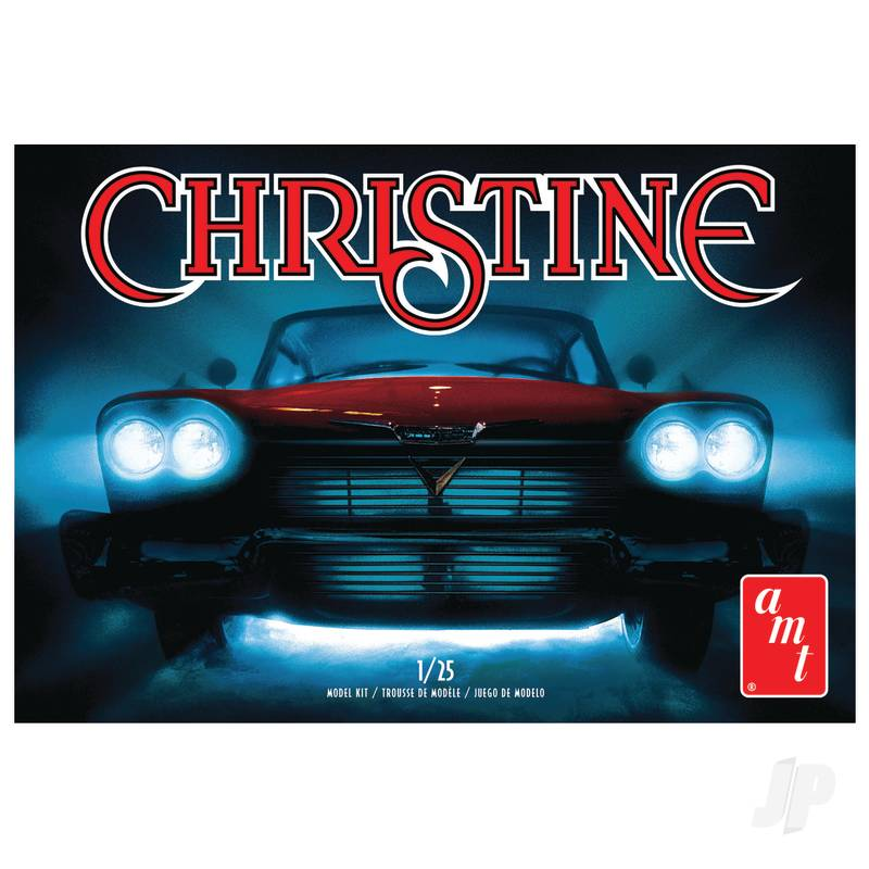 1:25 Christine - 1958 Plymouth Belvedere-Red