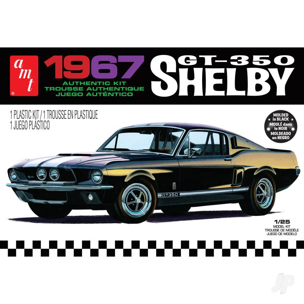 1:25 1967 Shelby GT350 - Black