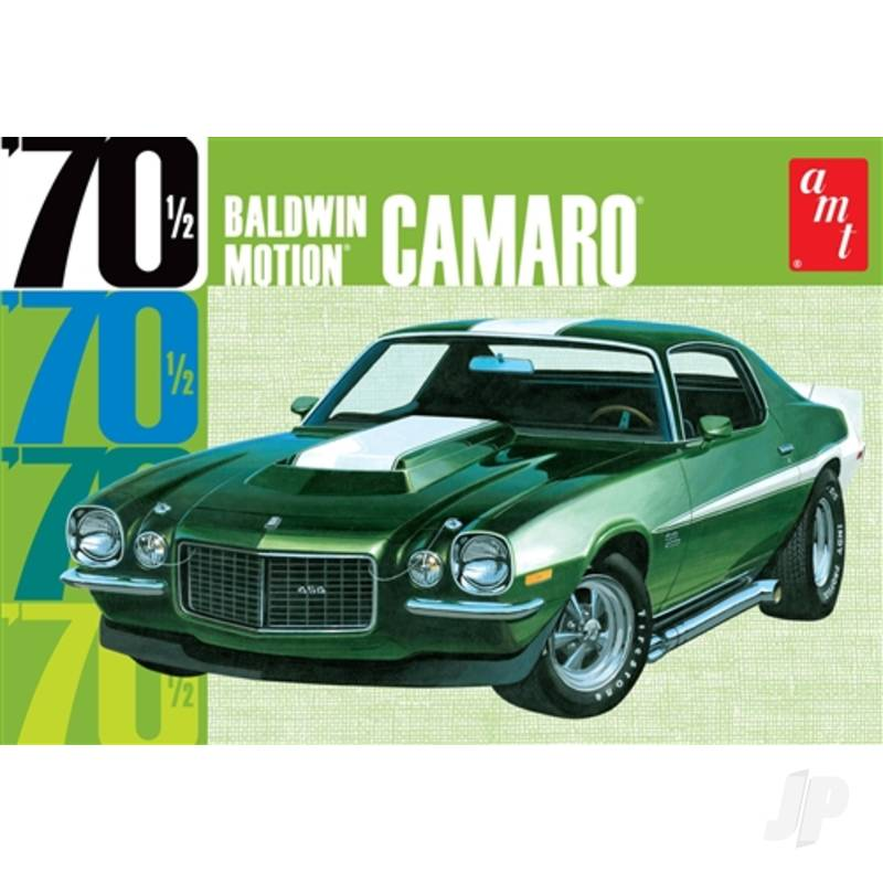 1:25 Baldwin Motion 1970 Chevy Camaro - Dark Green