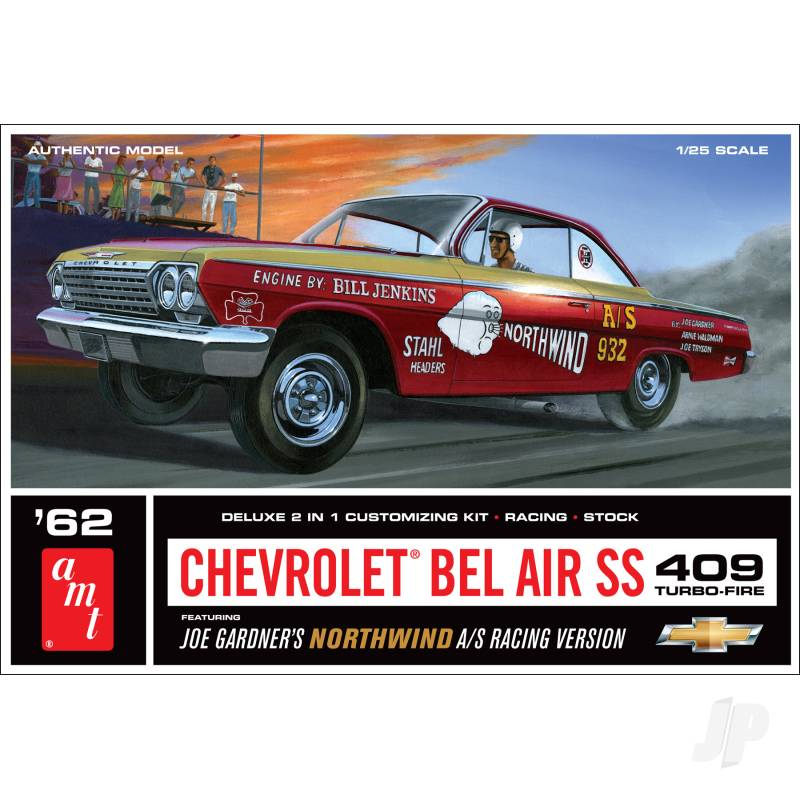 1:25 1962 Chevy Bel Air SS 409 - Joe Gardner Racingversion