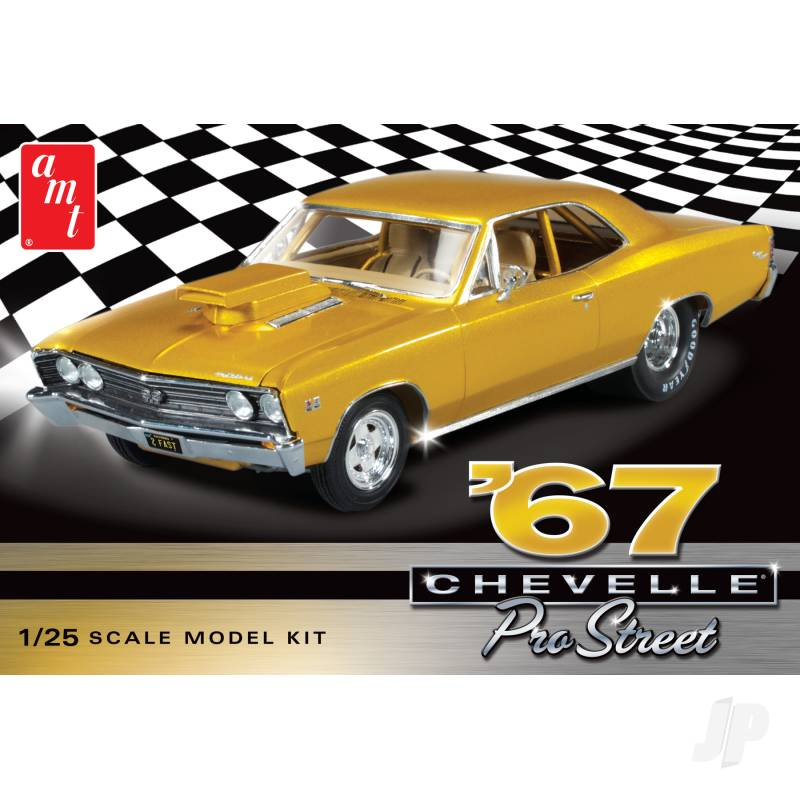 1:25 1967 Chevy Chevelle Pro Street