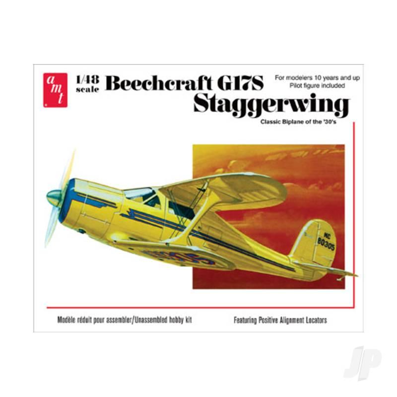 1:48 Beechcraft G17S Staggerwing