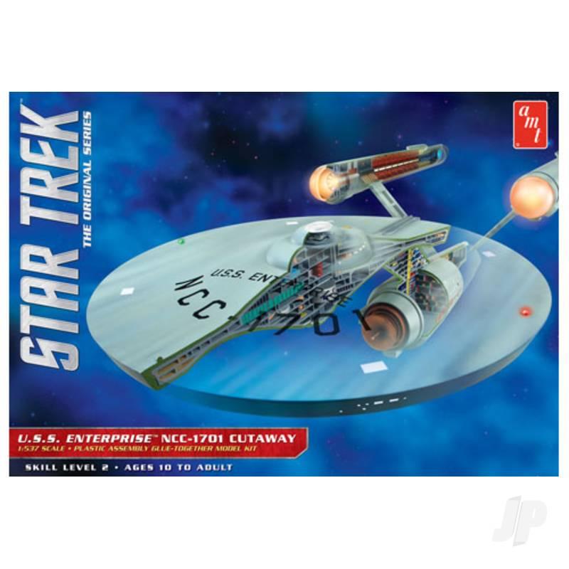 1:537 Star Trek TOS Enterprise Cutaway