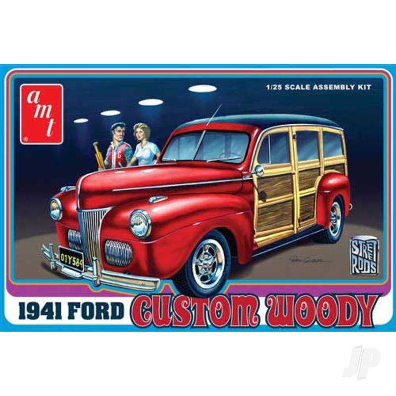 1:25 1941 Ford Woody