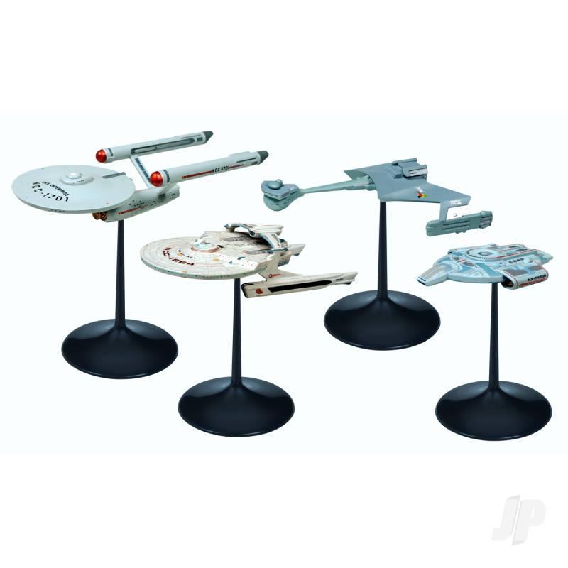 1:2500 Star Trek - Ships of the Line Assortment (Ship 1-4) SNAP (Assorted carton is as follows: 4 USS Enterprise parts, 4 USS Reliant, 2 USS Defiant, 2 D-7 Battle Cruiser)