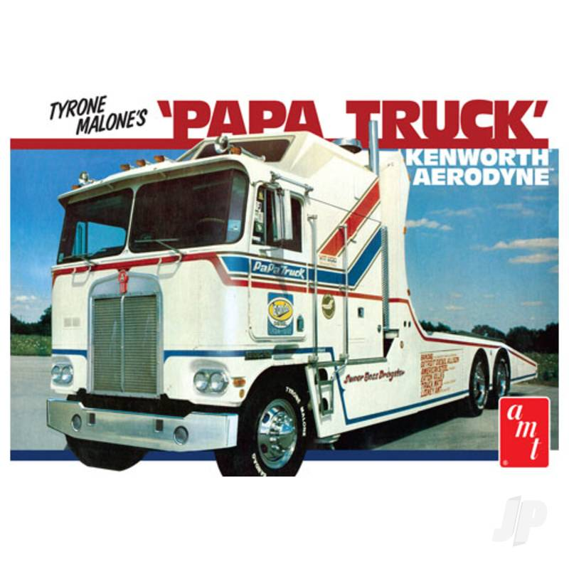 1:25 Tyrone Malone Kenworth Transporter Papa Truck