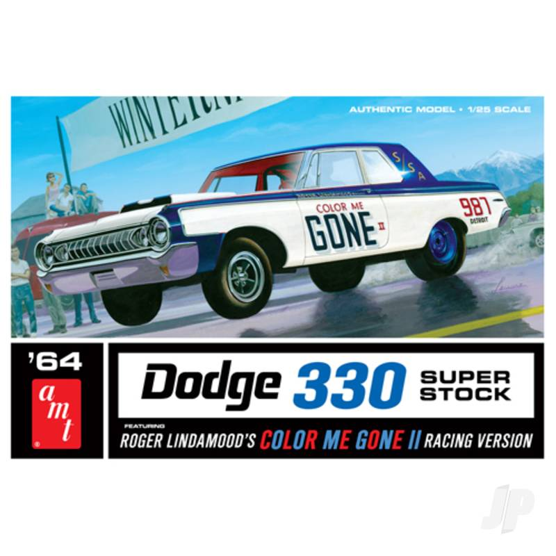 1:25 Color Me Gone 1964 Dodge 330 Superstock