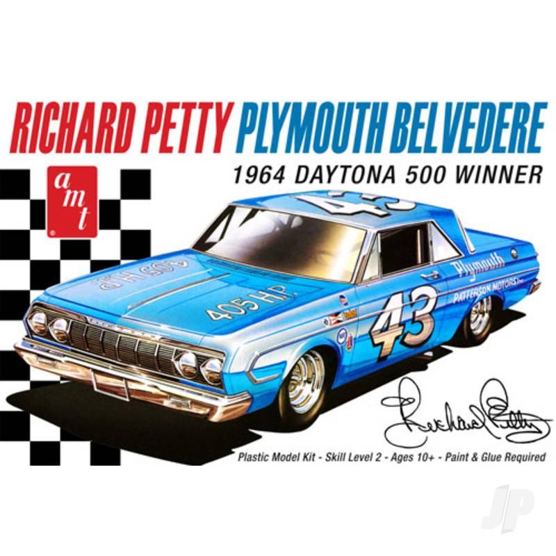 1:25 Richard Petty 1964 Plymouth Belvedere