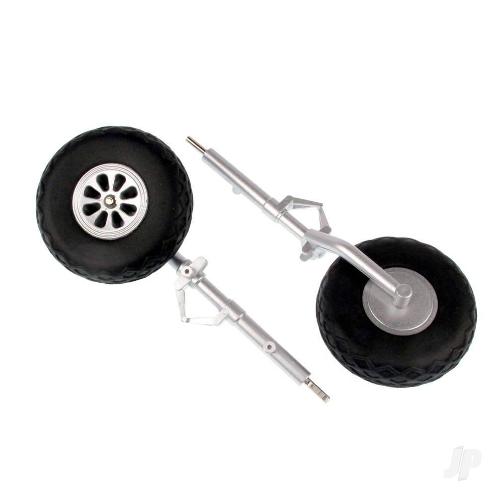 Main Landing Gear (Legs + Wheels) (P-51)