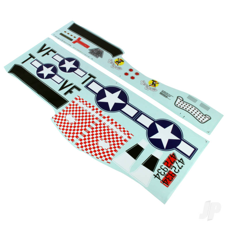 Decal Sheet (P-51)