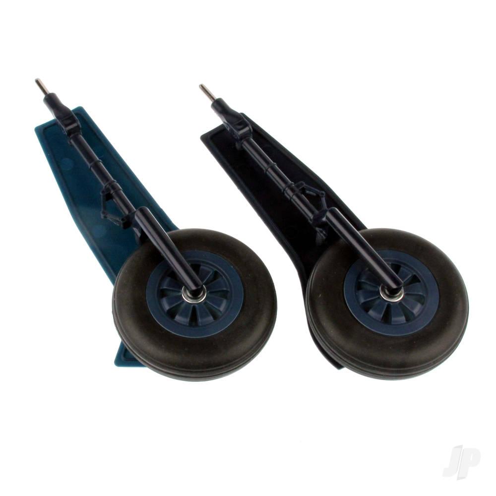 Main Landing Gear (Legs + Wheels) (T-28)