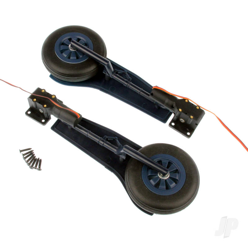 Main Landing Gear Set (Legs + Wheels + Retract) (F8F)