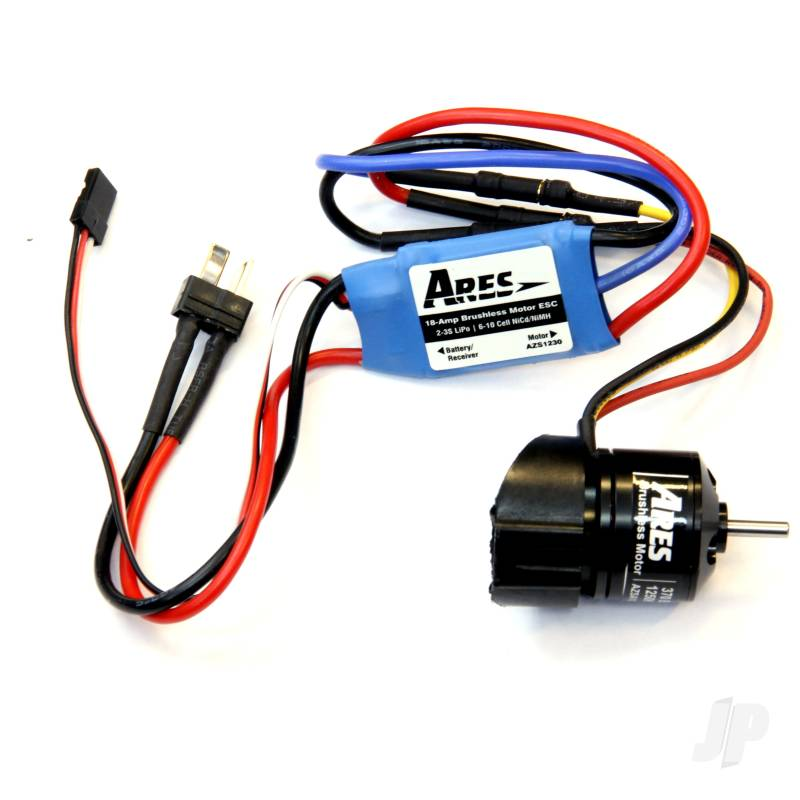 Mount, Motor and ESC, Power System Brushless Upgrade Combo 370 (Gamma 370)