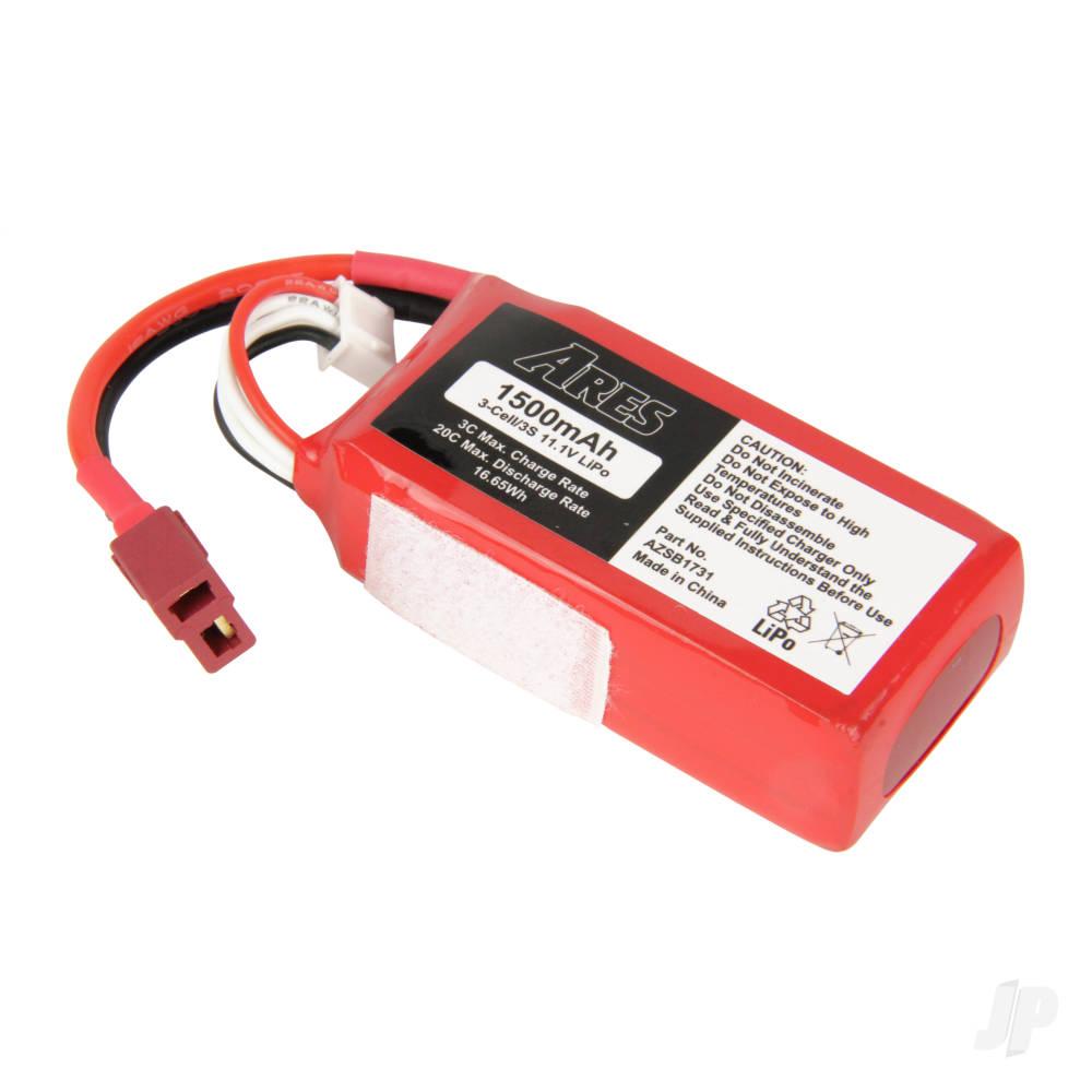 LiPo 3S 1500mAh 11.1V 20C (Alara EP)