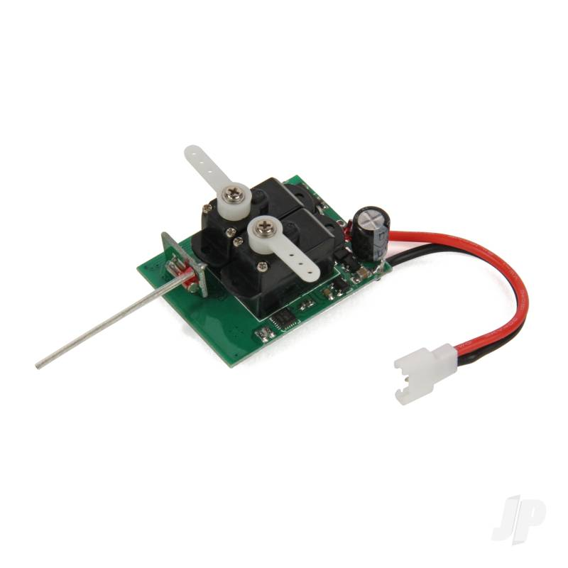 4-in-1 ESC, Servos, Rx, Gyro (Mini Gamma)