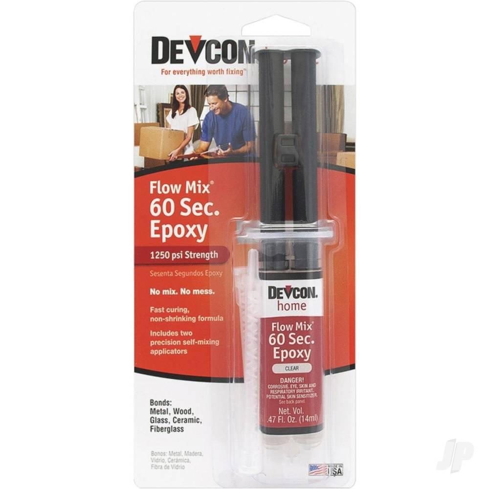 60 Second Epoxy Flow-Mix (14ml Syringe)