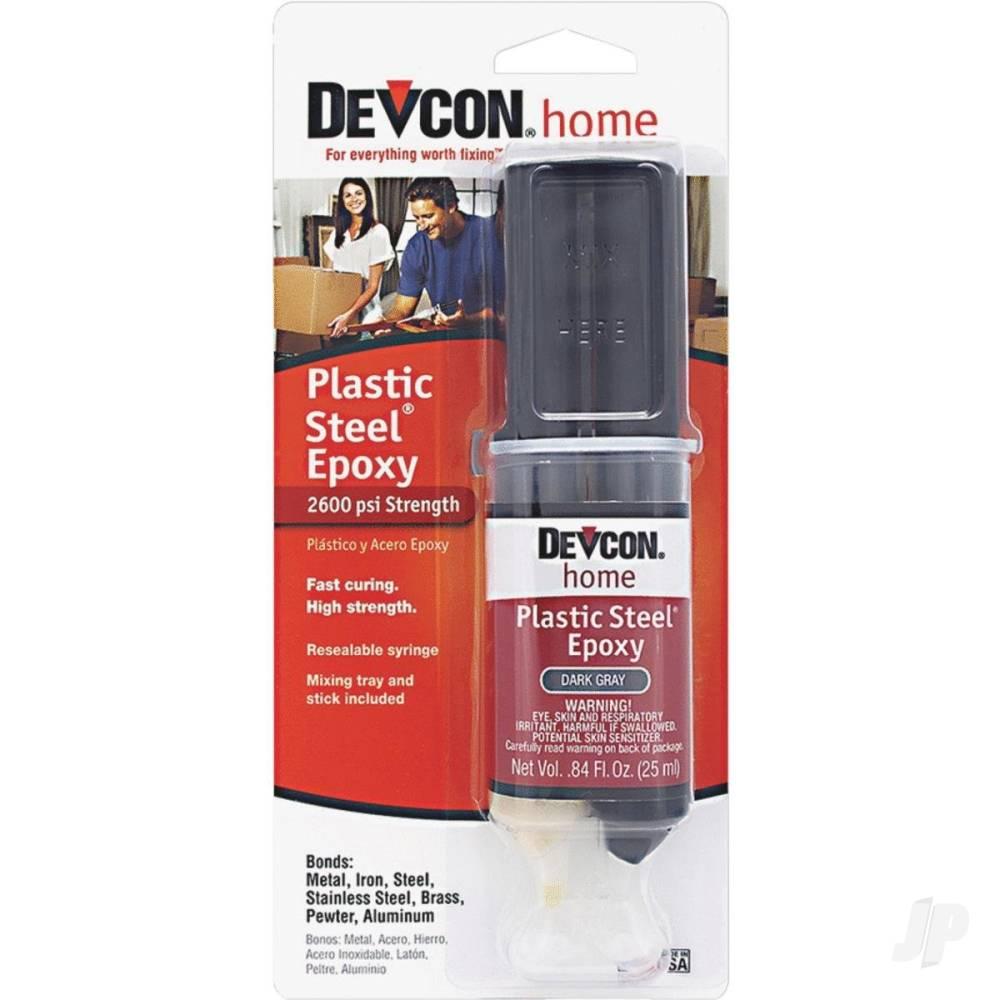 Plastic Steel Epoxy (25ml Syringe)
