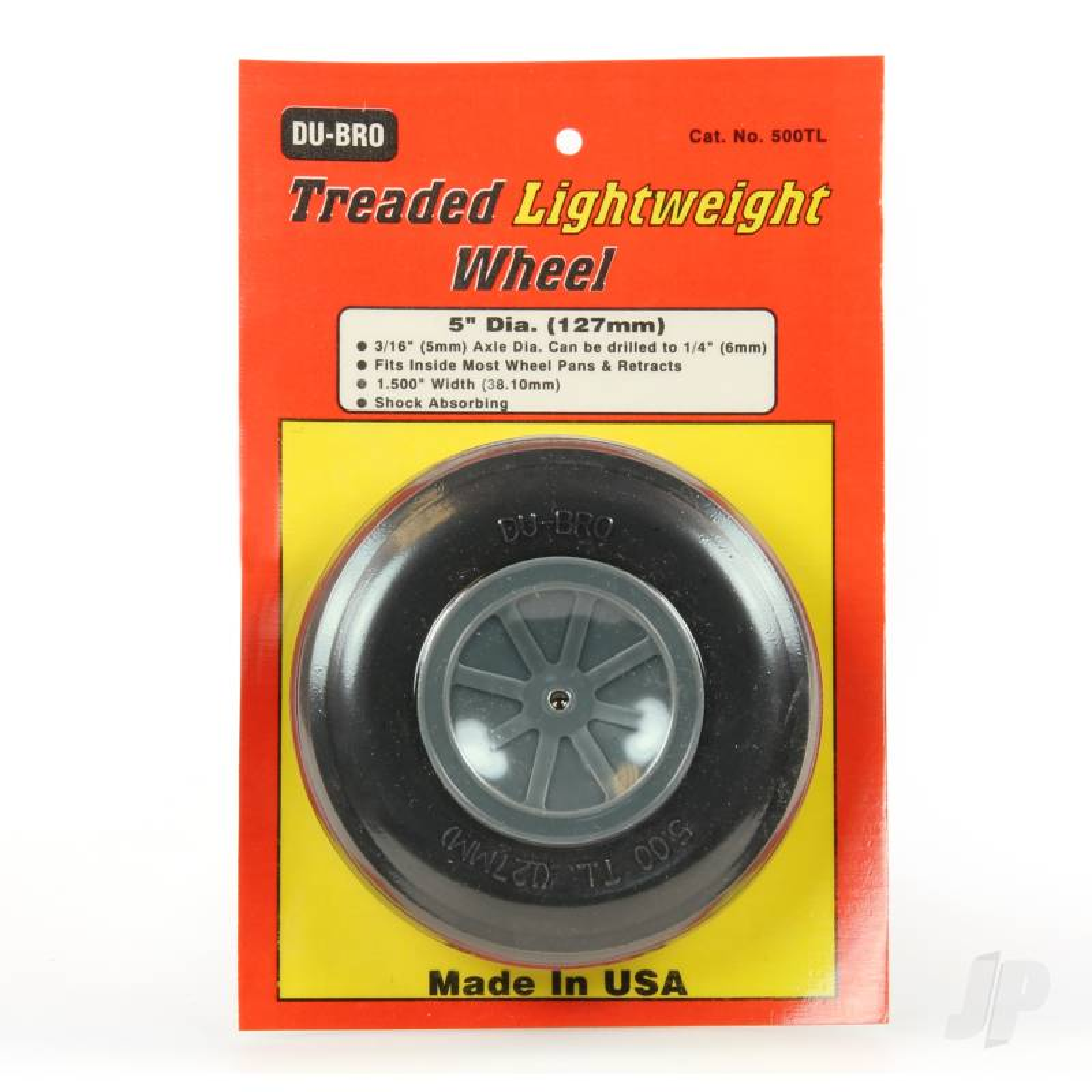 Treaded Lightweight Wheel 5.0ins